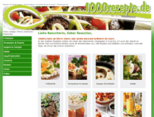 Tablet Preview of 1000rezepte.de